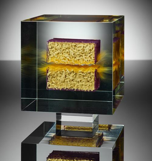 Gold . 14 x 14 x 14 cm . 2020