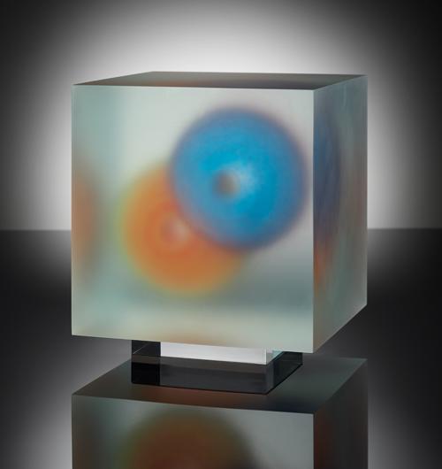 Capullo de cubo . 21 x 21 x 21 cm . 2020